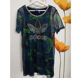 adidas - original  メッシュ重ね Tシャツ