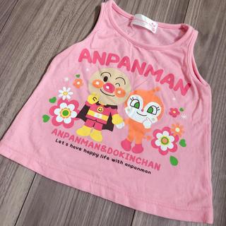 アンパンマン(アンパンマン)の美品 アンパンマン タンクトップ ノンスリーブ 80(タンクトップ/キャミソール)