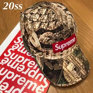 シュプリーム(Supreme)の20ss supreme bling camp cap キャップ newera(キャップ)