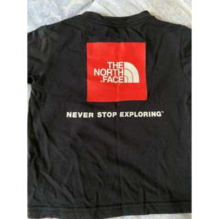ザノースフェイス(THE NORTH FACE)のノースフェイス中古品ロゴTシャツキッズ100cm(Tシャツ/カットソー)