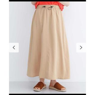 メルロー(merlot)のメルロー ドローコードギャザースカート(ロングスカート)