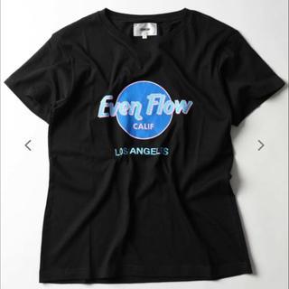 イーブンフロー(evenflo)の⭕️SALE⭕️WEB限定 イーブンフロー EF HR LOGO TEE 黒 S(Tシャツ/カットソー(半袖/袖なし))