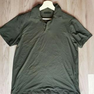 PRADA - プラダPRADA メンズ ポロシャツ オリーブカラー M