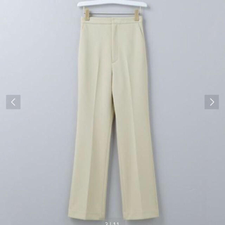 BEAUTY&YOUTH UNITED ARROWS - 6(ROKU)JERSEY BOOT CUT PANTS/パンツ