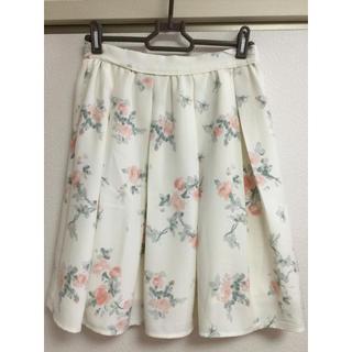 ロディスポット(LODISPOTTO)の花柄スカート(ひざ丈スカート)