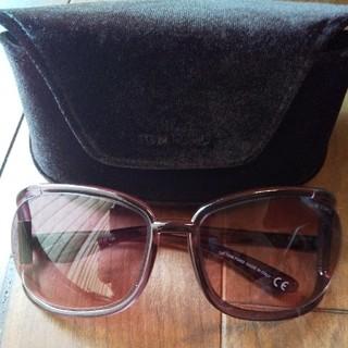 トムフォード(TOM FORD)のトムフォード サングラス ケース☆おしゃれ☆ケース、眼鏡拭き付き(サングラス/メガネ)