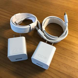 アイコス(IQOS)のiQOS アイコス 純正 充電器2個セット(タバコグッズ)