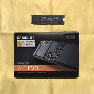SAMSUNG - SAMSUNG NVMe SSD 960EVO M.2 250GB 保証あり