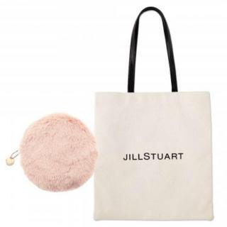 JILLSTUART - 未使用♡JILL STUART ロゴトート・ファーポーチ