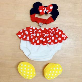 Disney - ミニーちゃん なりきり 着ぐるみセット