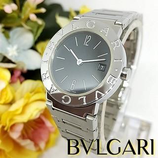 ブルガリ(BVLGARI)の極美品 ブルガリ BB26SS 電池交換 ポリッシュ済 レディース 腕時計(腕時計)