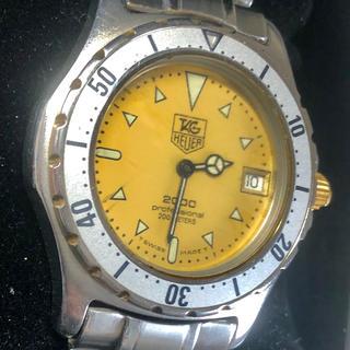 タグホイヤー(TAG Heuer)のタグホイヤープロフェッショナル2000divers1980年〜稼働品(腕時計(アナログ))