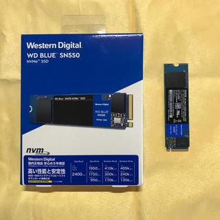 WesternDigital SN550 NVMe SSD 550GB 保証あり