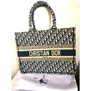 """ディオール(Dior)の美品  DIOR BOOK TOTE  ディオール オブリーク"""" バッグ(トートバッグ)"""