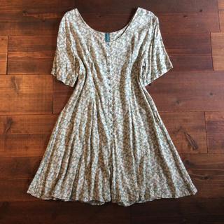 Lochie - vintage culotte dress