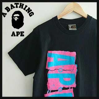 A BATHING APE - 913 アベイシングエイプ APE BIGプリント Tシャツ