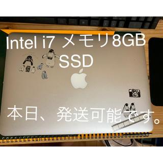 アップル(Apple)のMacBook Air 2012 i7 ssd 訳あり(ノートPC)