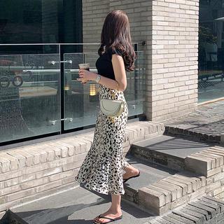 ディーホリック(dholic)のマーメイドラインパターンスカート DHOLIC (ひざ丈スカート)
