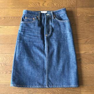 アーバンリサーチ(URBAN RESEARCH)のアーバンリサーチ デニムスカート (ひざ丈スカート)