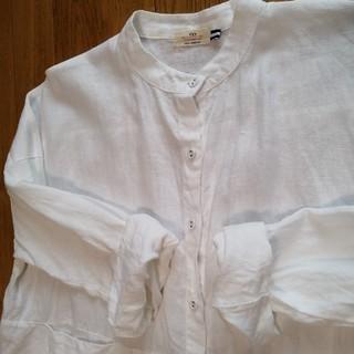 トゥモローランド(TOMORROWLAND)の流行♪リネン ホワイトシャツ(シャツ/ブラウス(長袖/七分))