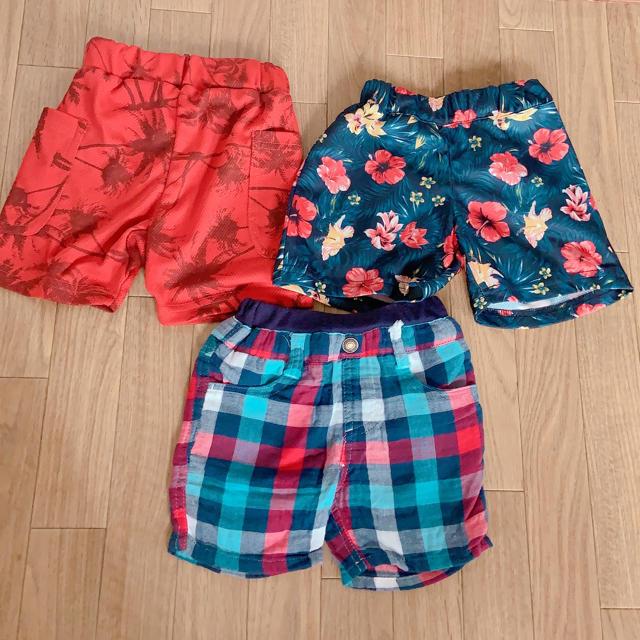 西松屋(ニシマツヤ)のハーフパンツ 80 キッズ/ベビー/マタニティのベビー服(~85cm)(パンツ)の商品写真