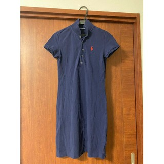 ラルフローレン(Ralph Lauren)のラルフローレン ポロシャツ ワンピース(ひざ丈ワンピース)