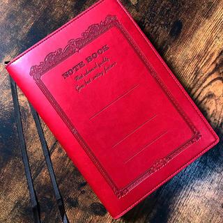 アピカ CDノートウェア A5 レッド ノートカバー 手帳