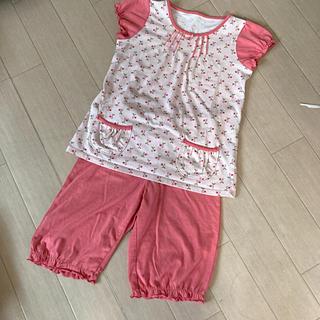 UNIQLO - UNIQLO さくらんぼ部屋着パジャマ♪ S(110〜125)