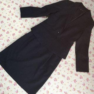 クリアインプレッション(CLEAR IMPRESSION)のクリアインプレッション スカートスーツ 2 W66 パンツ W74 濃紺 DMW(スーツ)