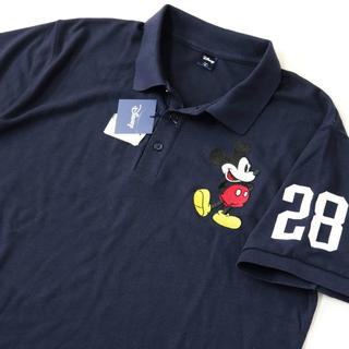 ディズニー(Disney)の(新品) DISNEY GOLF ポロシャツ 特大 ミッキー(ポロシャツ)