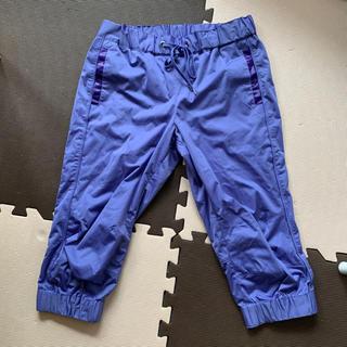 ユニクロ(UNIQLO)のユニクロ 膝下パンツ トレーニング ジョギング ヨガなどに 速乾素材 s m(ヨガ)