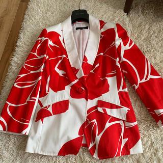 エスカーダ(ESCADA)の極美品ESCADAサマージャケット(テーラードジャケット)