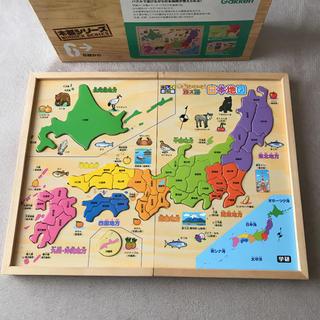 学研 - 学研のパズル 日本地図 木製シリーズ