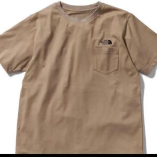 THE NORTH FACE - 即購入可能新品タグ付限定品ノースフェイスシンプルロゴポケットTシャツベージュXL