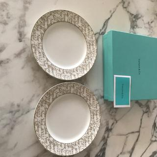 Tiffany & Co. - Tiffany ティファニー  ノーツ お皿 プレート