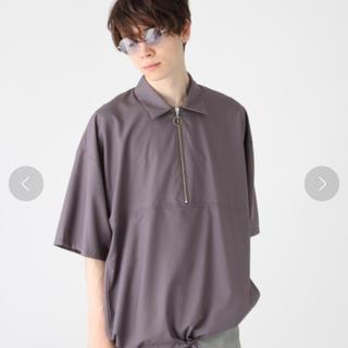ハレ(HARE)の襟付きハーフジップシャツ(Tシャツ/カットソー(半袖/袖なし))
