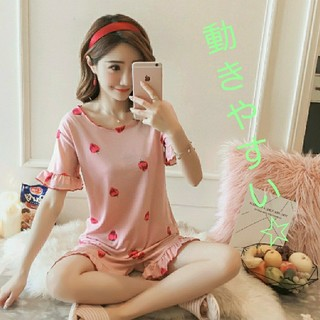 【大人気】いちごの♡パジャマ(パジャマ)