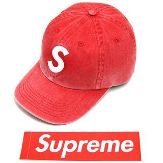 シュプリーム(Supreme)の20SS Suprem Pigment Print S Logo 6-Panel(キャップ)
