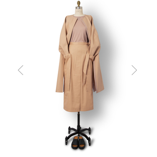 Drawer - 新品未使用ドゥロワー   ウエストリボンスカート blamink