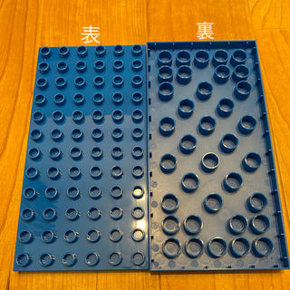 レゴ(Lego)の新品 ブルー 2枚セット LEGOデュプロ 基礎板 互換品(積み木/ブロック)