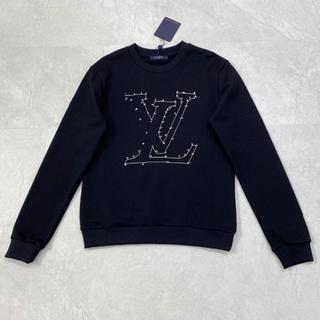 ルイヴィトン(LOUIS VUITTON)の【ルイ・ヴィトン】メンズ☆ LVステッチロゴ スウェットシャツ(スウェット)