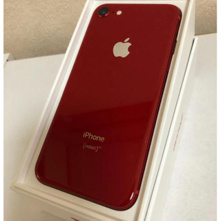 iPhone - iPhone8 256GB PRODUCT RED SIMフリー