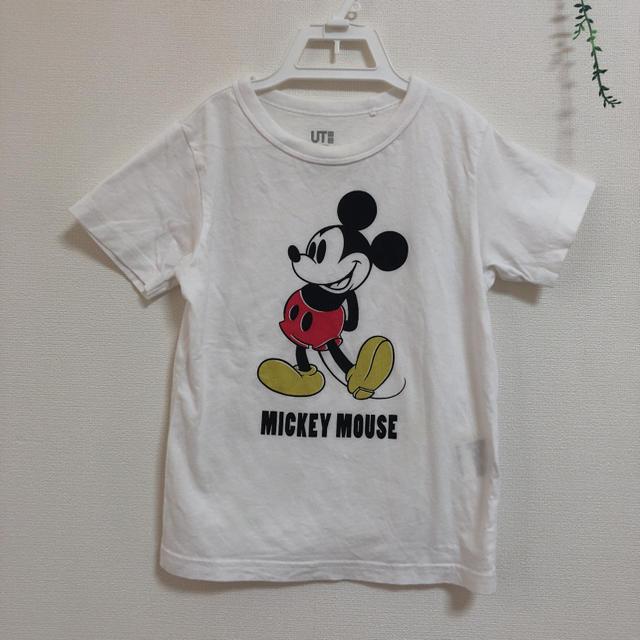 UNIQLO(ユニクロ)のUNIQLO/UT ミッキー Tシャツ 110センチ キッズ/ベビー/マタニティのキッズ服男の子用(90cm~)(Tシャツ/カットソー)の商品写真