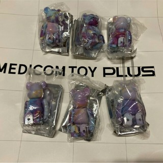 MEDICOM TOY - ベアブリック パターン6個
