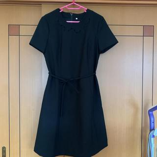 ブラックフォーマルワンピース(礼服/喪服)