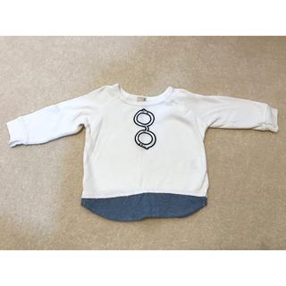 プティマイン(petit main)のプティマイン80長袖(シャツ/カットソー)