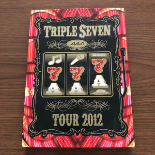 AAA - AAA TOUR 2012 -777- TRIPLE SEVEN DVD