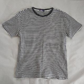 ジーユー(GU)のGU 半袖 Tシャツ ボーダー 150(Tシャツ/カットソー)
