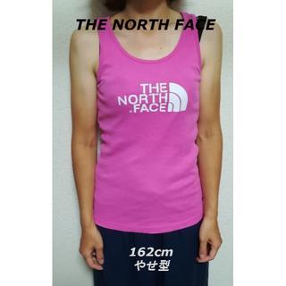 ザノースフェイス(THE NORTH FACE)のTHE NORTH FACEロゴタンクトップピンク/アウトドア人気ブランド(タンクトップ)