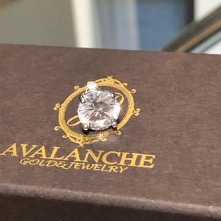 アヴァランチ(AVALANCHE)のAVALANCHE シルバー ピアス 9mm(ピアス(片耳用))